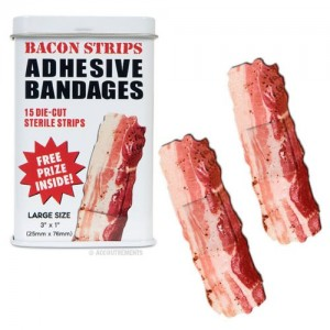 Adhesive Bacon Bandages