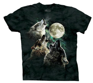 Wolf and Moon Shirt