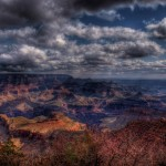 hdr image of grand canyon